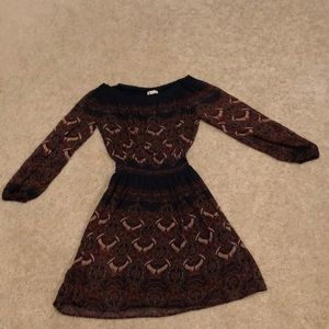 Abercrombie & Fitch long sleeve dress